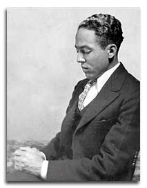 Langston Hughes - see below for photo credit